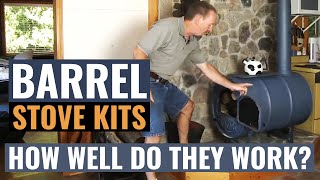 Download Barrel Stove Kits - How Well Do They Work? Video