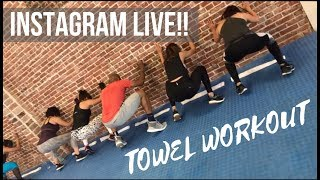 Download Our first Instagram LIVE!! Join the workout! Video
