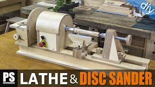 Download Homemade Lathe & Disc Sander Part2 Video