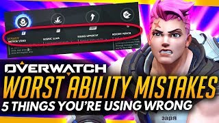 Download Overwatch | Top 5 ABILITIES Players Are Using WRONG! - MAJOR ABILITY MISTAKES Video