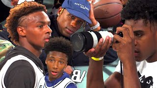 Download Bronny & Mikey Williams BALLING In Front Of TRAVIS SCOTT! Mikey WINDMILLS In The 8TH GRADE!? Video