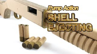 Download Pump To Eject | How To Make DIY Cardboard Gun Video