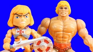 Download He man and the Masters of the Universe Vinyl Action Figures Video