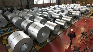 Download Trump tariffs drive $500M investment in a new Ohio steel plant Video