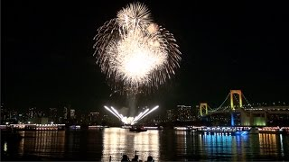 Download Rainbow Bridge holiday light-up and Odaiba Rainbow Fireworks Video