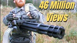 Download M134 MINIGUN ″THE FORT″ AIRSOFT WAR Scotland Video