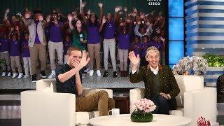 Download Ellen Surprises Inspiring Baltimore Teacher Mr. O Video
