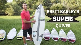 Download Brett Barley's SUPERbrand Quiver Video