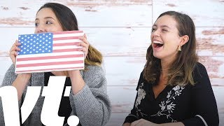 Download British People vs. American Citizenship Test | VT Challenges Video