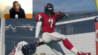 Download Who Can Score a 99yd QB Scramble TD First? Michael Vick, Cam Newton or RG3? Madden 18 Challenge Video
