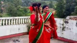 Download Haritalika Teej Nepali Women's Biggest festival,Dancing in Traditional Nepalese Women costumes Video