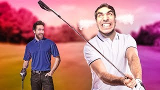 Download I HAVE NEVER WATCHED SOMEONE GOLF SO HORRIBLY Video