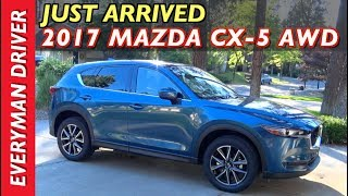 Download Just Arrived: 2017 Mazda CX-5 AWD on Everyman Driver Video