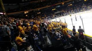 Download Score + fight NHL - Nashville Predators vs Tampa Bay Lightning Section 118 Row HH Video