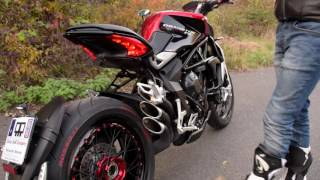 Download MV Agusta Dragster RR QDexhaust sound Video