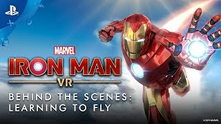Download Marvel's Iron Man VR – Behind the Scenes: Learning to Fly | PS VR Video