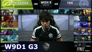 Download OpTic Gaming vs TSM | Week 9 Day 1 S8 NA LCS Summer 2018 | OPT vs TSM W9D1 Video