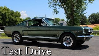 Download Test Driving 1965 Ford Mustang Fastback 289 V8 Four-speed Video