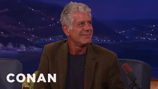 Download Anthony Bourdain: Don't Raise Your Kids To Be Foodies - CONAN on TBS Video