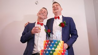Download Australian same-sex couple marry after 30 years together Video