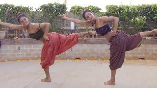 Download MUKTI & SHAKTI MOHAN FUSION DANCE ON SHAPE OF YOU CARNATIC MIX BY INDIAN RAGA FEAT ADITYA RAO Video