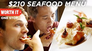 Download $210 7-Course Seafood Dinner Video
