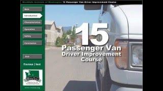 Download 15 Passenger Van Training Video
