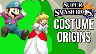 Download Super Smash Bros. Costume Origins - Mario Series – Aaronitmar Video
