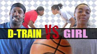 Download 1v1 baskeball, Game 096 (D-Train vs Girl aka ″CC″) Video