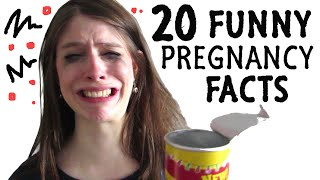 Download 20 FUNNY FACTS About PREGNANCY Video