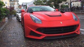 Download Crazy Action! Novitec Ferrari F12 N-Largo POWERSLIDE, Loud Revs & Hard Accelerations Video