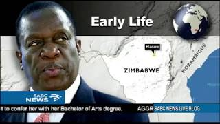 Download Emmerson Mnangagwa's political journey Video