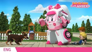 Download 🚨 Daily life Safety with AMBER | EP 09 - 12 | Robocar POLI | Kids animation Video