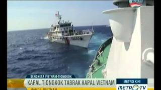 Download Video Kapal Perang Tiongkok Tabrak Kapal Perang Vietnam Video