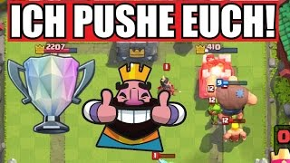 Download ICH PUSHE EUCH! | ACCOUNTS PUSHEN: +600 POKALE! | Let's Play Clash Royale [Deutsch/German] Video