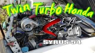 Download the Worlds 1st Twin Turbo Sleeper Honda (Stock Engine) Video