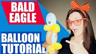 Download BALD EAGLE Balloon Animal Tutorial - Learn Balloon Animals with Holly! Video