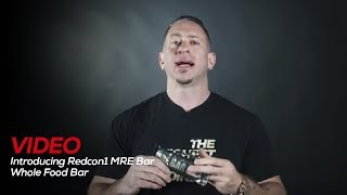 Download Introducing Redcon1 MRE Bar - Whole Food Bar Video