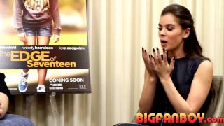 Download Hailee Steinfeld interview for THE EDGE OF SEVENTEEN on balancing angst and comedy Video