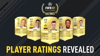 Download FIFA 17 Player Ratings Revealed - James, Reus, Neuer, Kane, Martial Video