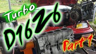 Download Turbo D16Z6 Civic Build [Part 1 of 3] Video