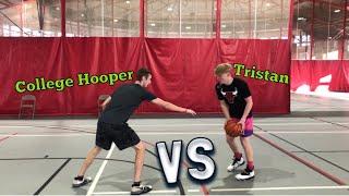 Download BEST COMP YET! 1v1 against college hooper! Video