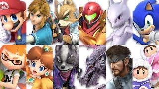 Download Super Smash Bros Ultimate - All 68 Characters Gameplay Showcase Video