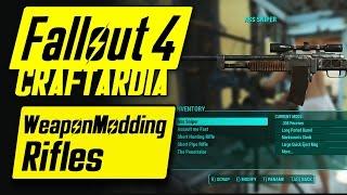 Download Fallout 4 Weapon Customization - Rifle Modding - Fallout 4 Rifle Mods [CRAFTARDIA] [PC] Video