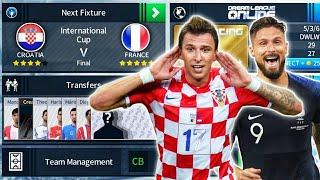 Download France 🇫🇷 Vs 🇭🇷 Croatia World Cup Final 🏆 Dream League Soccer 2018 Video