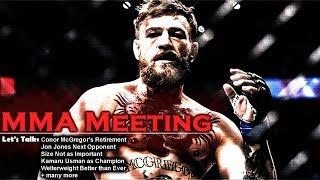 Download Let's Talk: Conor McGregor's Retirement; Jones vs Santos; Size Not Important? Video