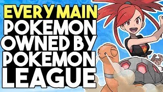 Download EVERY Signature Pokemon Owned By Gym Leaders, Elite Four and Champions Video