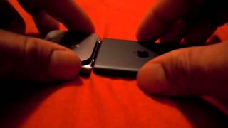 Download iPod nano 7th generation unboxing and comparison to 6th generation nano g gen 7 6 slate black Video