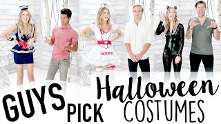 Download GUYS PICK MY HALLOWEEN COSTUME Video