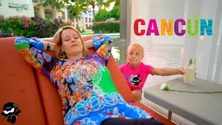 Download Hide and Seek from Mom and Dad in Cancun Mexico! Video